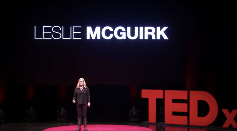 High School Students at Turtle River Montessori Welcome Renowned Artist, Author, and TEDx Speaker Leslie McGuirk